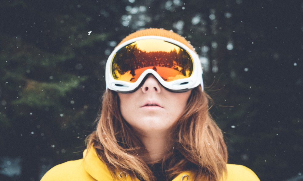 Ski Goggles With Camera and GPS