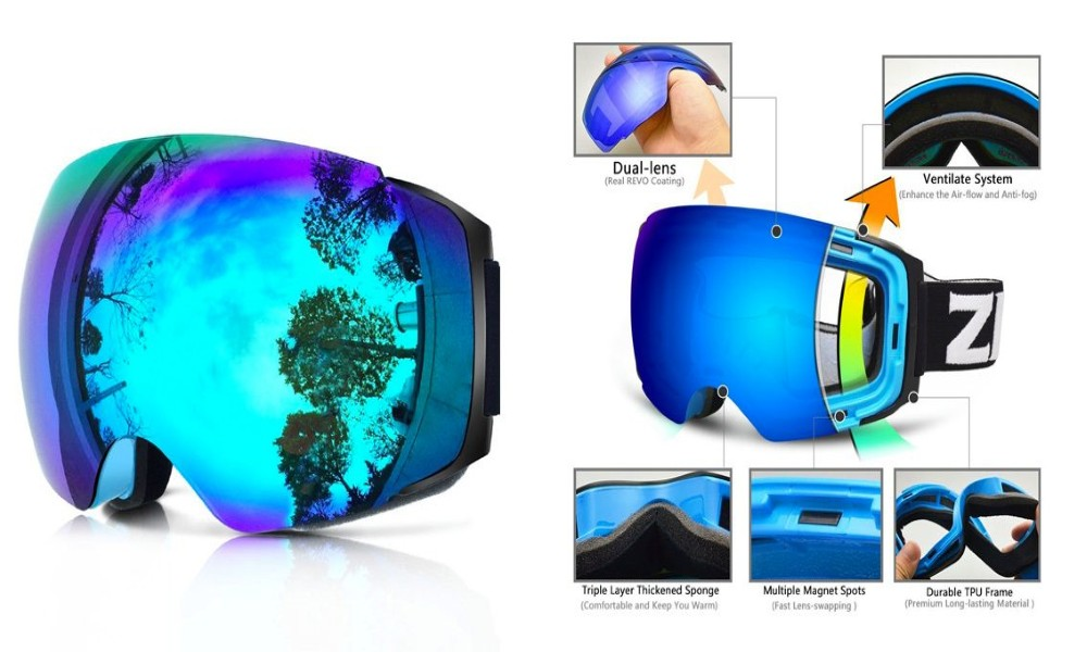 Zionor Ski Goggles Review